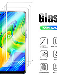 cheap -3Pcs For Xiaomi Redmi Note 9 Pro Max Tempered Glass Screen Protector Protective Film For Xiaomi Redmi Note 9 Pro/Note 9s/9/ 8 Pro /7s/7 Glass 9H