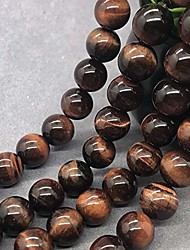 cheap -red tiger eye beads 10mm gemstone loose natural stone round diy for jewelry making (red, 10mm(≈37pcs))