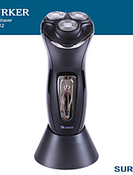 cheap -Surker Men's Shaver Electric Razor Barber Shaving Machine Floating 3 Cutter Head Abs Trimmer For Face Charging And Plugging 312