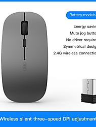 cheap -Wireless Mouse Computer Mouse 2.4GHz USB Adapter Home Office Desktop Computer Mice Laptop Wireless Mouse Ergonomic Mouse
