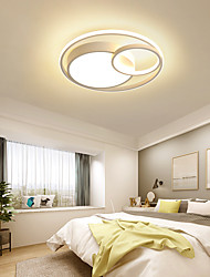 cheap -40/48/60 cm LED Ceiling Lamp Round Modern Simple Personalized Art Study Lamp Nordic Aluminum Master Bedroom Living Room Office