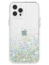 cheap -- twinkle ombre - case for iphone 12 and iphone 12 pro (5g) - 10 ft drop protection - 6.1 inch - confetti