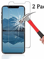 cheap -[2-pack]  for iphone xr screen protector, 2.5d edge 0.33mm clear film anti-scratch and anti-fingerprint ultra slim hd clear premium tempered glass for apple iphone xr