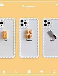 cheap -Case For Apple iPhone 11 / iPhone 11 Pro / iPhone 11 Pro Max Shockproof Back Cover Cartoon / 3D Cartoon TPU