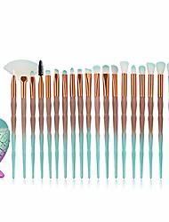 cheap -21-pcs makeup brush set, nylon makeup brush