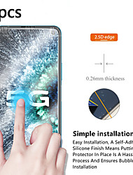 cheap -Vivo Screen Protector VIVO Y66 Z5X Z1 Pro X9 X9S X9 Plus X9S Plus X20 X20 Plus S1 Pro High Definition (HD) Front Screen Protector 5 pcs Tempered Glass