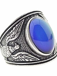 cheap -mood ring changing color for adults eagle mens ring antique sterling silver vintage statement rings (12)