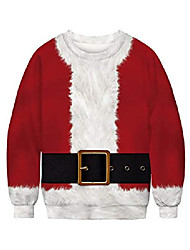 cheap -unisex ugly christmas sweater funny sweatshirt long sleeve pullover for xmas party am070-49-xxl