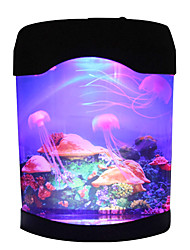 cheap -Jellyfish Tank Marine World Swimming Mood Light LED Colorful Aquarium Night Lights Children's Lamp Decorative Lights