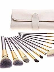 cheap -18 makeup brushes set professional eyebrow eyelash lip make up brushes beauty cosmetic tools with case