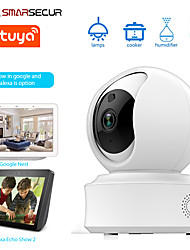 cheap -SMARSECUR Auto-tracking WiFi IP Camera 1080P Home Security Mini Camera Night Vision Tuya Smart life
