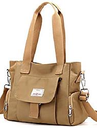 cheap -satchel handbags for women,cute ladies shoulder cross body purses with lots of pockets mult-pockets hobo sturdy and lightweight satchel khaki