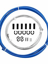 cheap -bicycle brake cable & housing, mountain bike brake cables set, universal bike brake cables for mtb/road bike, blue