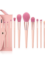cheap -BONNY VIC Bonny 12 Nude Pink Makeup Brush Set Girly Heart Eye Shadow Blush Loose Powder