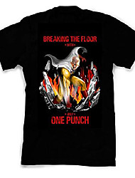 cheap -pop culture one punch inspired fan art custom made and designed t-shirts and tees; size: 4x-large