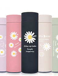 cheap -450ml Cute Sunflower 304 Stainless Steel Tumbler Insulated Water Bottle Portable Vacuum Flask for Travel Cup Colorful Coffee Mug