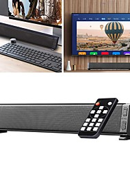 cheap -Bluetooth 5.0 Sound Bar Speaker TV Remote Control Home Stereo Audio Subwoofer System TV Home Soundbar Support USB Sound Card