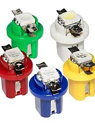 cheap -10 Units T5 Led Lamp 509T B8.5Car Gauge Speedo Dash Bulb Auto Dashboard Instrument Light B8.5D Blue Red Green White Yellow