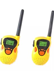 cheap -2pcs Electric Walkie-talkie Long-range Wireless Conversation Children Play House Toy Electric Interphone Birthday Gift For Kid