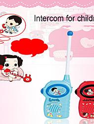 cheap -2PCS Mini 100-200M Kids Walkie Talkies Toy Child Electronic Radio Voice Interphone Toy Outdoor Wireless Walkie Talkies Toy