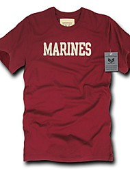 cheap -rapiddominance marines oceanside applique tee, maroon, x-large
