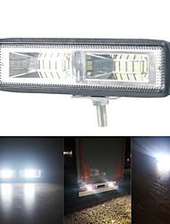 cheap -1PCS 12V led bar 48W Wrok Light LED lightbar 2835LED 16SMD for Truck Tractor SUV 4x4 Car Led Headlights Lighting Spot work bar
