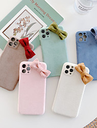 cheap -Case For Apple iPhone 11 / iPhone 11 Pro / iPhone 11 Pro Max Shockproof Back Cover Solid Colored / 3D Cartoon TPU