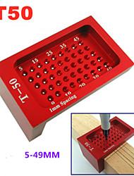 cheap -T50 woodworking ruler aluminum alloy T-shaped woodworking scriber mini scribe ruler