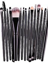 cheap -makeup brushes premium makeup brush set synthetic eyeliner blush contour brushes lip makeup brush eyeshadow brush concealer brush kit(15pcs,black)