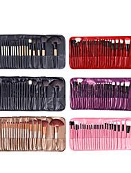cheap -Factory direct sale 24 log makeup brush set portable 24 makeup brush with brush bag hot spot