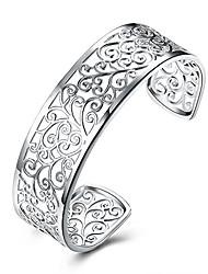 "cheap -925 sterling silver filigree cuff bracelet, 7"""