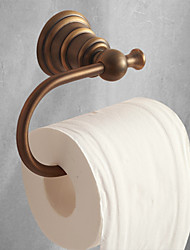 cheap -Toilet Paper Holders Antique Brass Bathroom Roll Paper Holder Wall Mounted 1pc