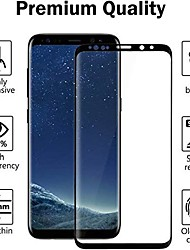 cheap -2-Pack Tempered Glass Screen Protector For Galaxy S21 Ultra Case-friendly No-Bubbles Easy-To install Anti-Fingerprint Full-coverage Screen Protector For Samsung Galaxy S21+/S20Plus /S10plus/S8/S8Plus