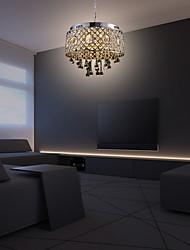 cheap -38cm LED Chandelier Crystal Classic Pendant Light Luxury Metal Living Room Bedroom 110-120V 220-240V