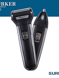 cheap -Surker Electric Hair Trimmer Sk-532 2 In 1 Rechargeable Electric Shaver Razor Nose Hair Trimmer Temples Trimmer Washable