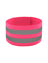 cheap -Reflective Wristband Reflective Strip for Running Cycling / Bike Jogging Textile Polyester