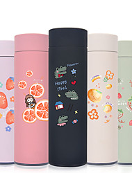 cheap -450ml Fruits Dinosaur Stainless Steel Tumbler Insulated Water Bottle Portable Vacuum Flask for Travel Cup Colorful Coffee Mug
