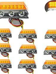 cheap -2Pcs Car LED Clearance Lights Side Marker Lamps for Automobiles Truck Trailer Caravan 24V