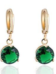 cheap -crystal 18k gold plated earrings stud women dangle earrings for girlsgs0461 (gs0461-3)