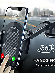 cheap -360 Rotation Suction Cup Phone Car Holder Scalable Glass Desk in Car Mobile Holder Stand large Screen Smartphone GPS Auto Bracket
