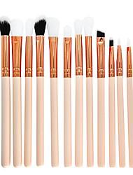 cheap -elevin(tm) 12pcs makeup brush set professional face eye shadow eyeliner foundation blush (a)