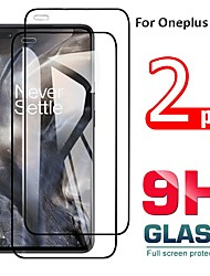 cheap -OnePlus Screen Protector OnePlus 7 OnePlus 7T OnePlus 5 OnePlus 5T OnePlus 6  High Definition HD Front Screen Protector 2 pcs Tempered Glass