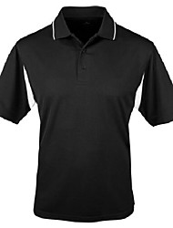 cheap -tri-mountain poly ultracool waffle knit golf shirt. 118 - forest green/white_l