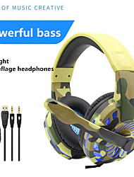 cheap -G305 Wired Gaming Headset With Mic Subwoofer Luminous Music Fans Color Headphones For Computer Phones PS4