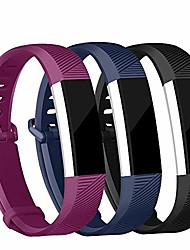 cheap -replacement bands compatible for fitbit alta and fitbit alta hr, newest adjustable sport strap smartwatch wristbands 3 packs