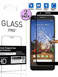 """cheap -compatible with google pixel 3a screen protector tempered glass full coverage - [2 pack] cell phone protective film for google pixel 3a 5.6"""" 2019"""