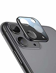 cheap -camera lens protector back camera aluminum tempered glass protector designed for iphone 11 pro/max space gray