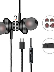 cheap -Langsdom Q10 Wired In-ear Earphone Wired Stereo for Travel Entertainment