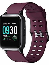 cheap -Smart Watch for Android Phones Compatible iPhone Samsung IP68 Swimming Waterproof Smartwatch Sports Watch Fitness Tracker Heart Rate Monitor Digital Watch Smart Watches for Men Women Purple