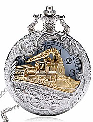 cheap -3d train pocket watch, antique pocket watches for men, special boys gifts